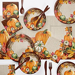 Creative Converting Harvest Wreath Party Decorations