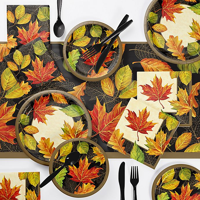 Alternate image 1 for Creative Converting™ 73-Piece Elegant Fall Party Supplies Kit