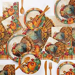 Creative Converting Traditional Thanksgiving Party Supplies