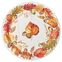 Creative Converting 24-Count Fall Give Thanks Thanksgiving Paper Plates