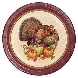 Creative Converting™ 24-Pack Thanksgiving Turkey Dessert Plates