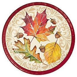Creative Converting™ 24-Pack Fall Leaves Paper Plates