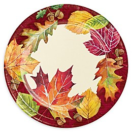 Creative Converting™ 24-Pack Fall Leaves Dessert Plates