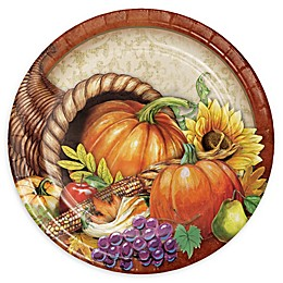 Creative Converting™ 24-Count Harvest Thanksgiving Paper Plates