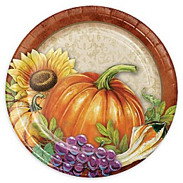 Creative Converting™ 24-Count Harvest Thanksgiving Paper Dessert Plates