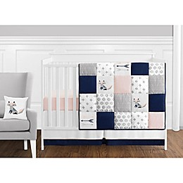 Sweet Jojo Designs Fox Patch 11-Piece Crib Bedding Set