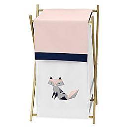 Sweet Jojo Designs Fox Patch Laundry Hamper