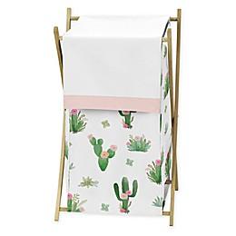 Sweet Jojo Designs Cactus Floral Laundry Hamper