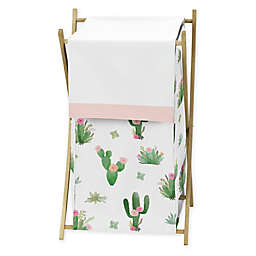 Sweet Jojo Designs Cactus Floral Laundry Hamper