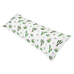 Sweet Jojo Designs Cactus Floral Body Pillowcase