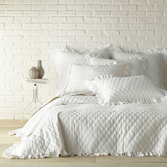 Alternate image 1 for Levtex Home Sandwash Reversible Twin Quilt in Ivory