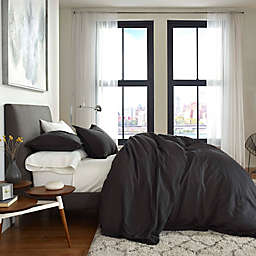 Flatiron® Washed Linen-Blend Duvet Cover