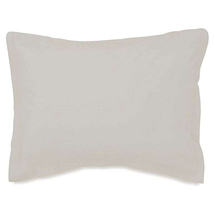 Alternate image 1 for Flatiron® Washed Linen-Blend Standard Pillow Sham in Off-White