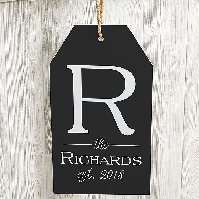 Alternate image 1 for Family Name Wall Tag