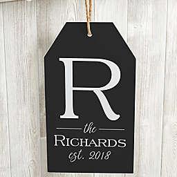 Family Name Wall Tag