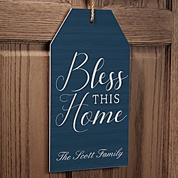 Bless This Home Wall Tag