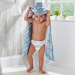 Modern Boy Hooded Towel