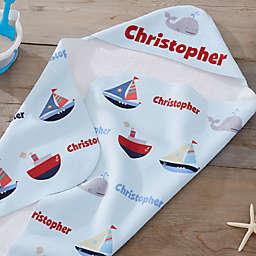 Water World Hooded Towel