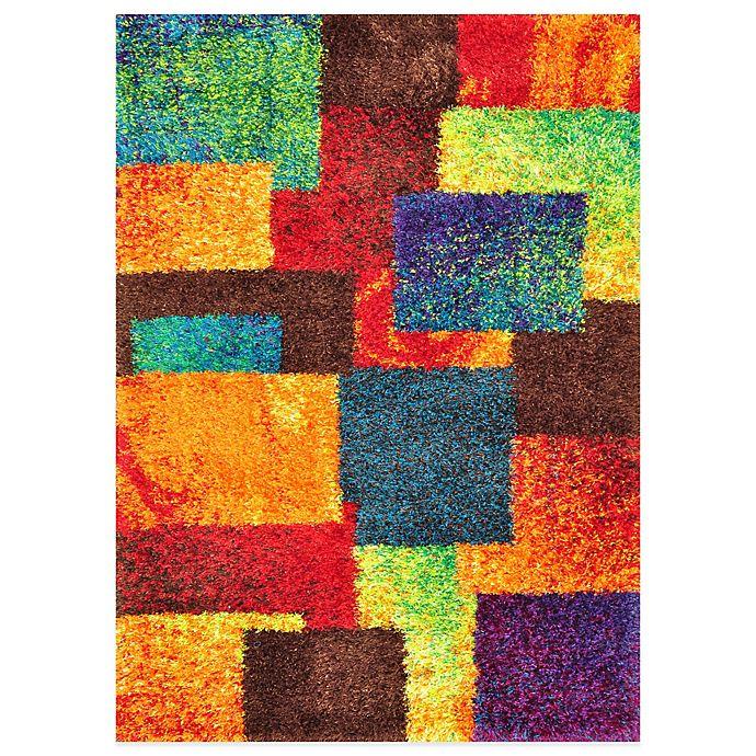 Alternate image 1 for Loloi Rugs Barcelona Shag Rug in Multi