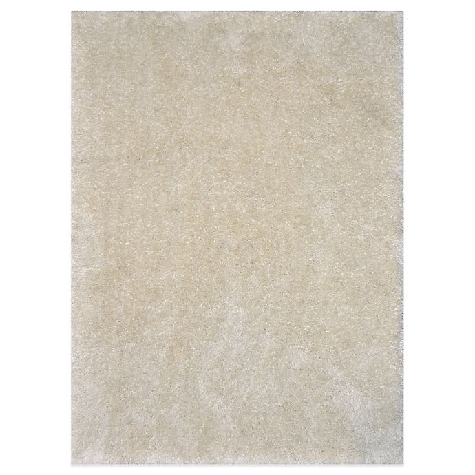 Alternate image 1 for Loloi Rugs Cozy Shag Rug in Ivory