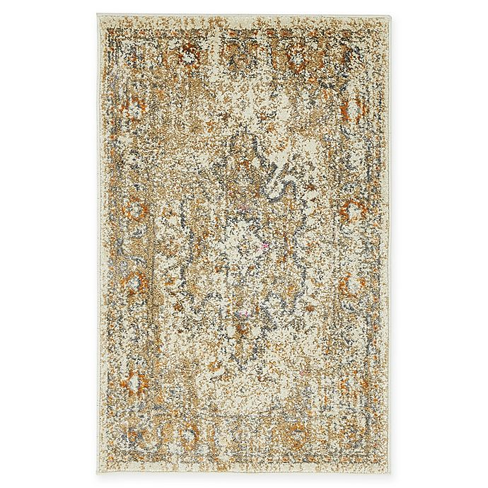 Alternate image 1 for Unique Loom Sater Stockholm 2' X 3' Powerloomed Area Rug in Beige