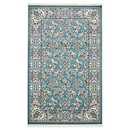 Unique Loom Sheffield Area Rug in Blue