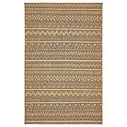Unique Loom Southwestern Indoor/Outdoor Rug in Light Brown