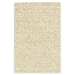 Unique Loom Solid Shag Rug in Pure Ivory