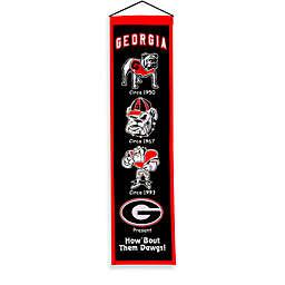 University of Georgia Collegiate Heritage Banner