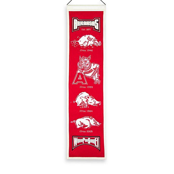 Alternate image 1 for University of Arkansas Collegiate Heritage Banner