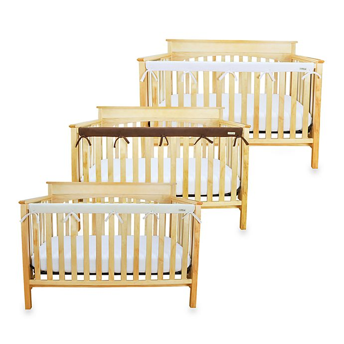 Alternate image 1 for Trend Lab® CribWrap™ Convertible Crib Long Narrow Rail Cover
