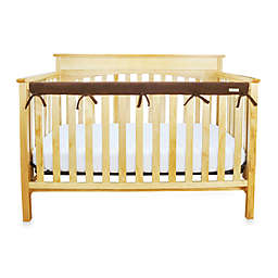 Trend Lab® CribWrap™ Convertible Crib Long Narrow Rail Cover in Chocolate Brown