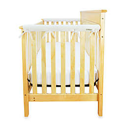 Trend Lab® CribWrap™ Convertible Crib Short Narrow Rail Cover in Natural