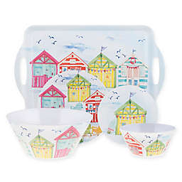 Beach House Melamine Dinnerware Collection