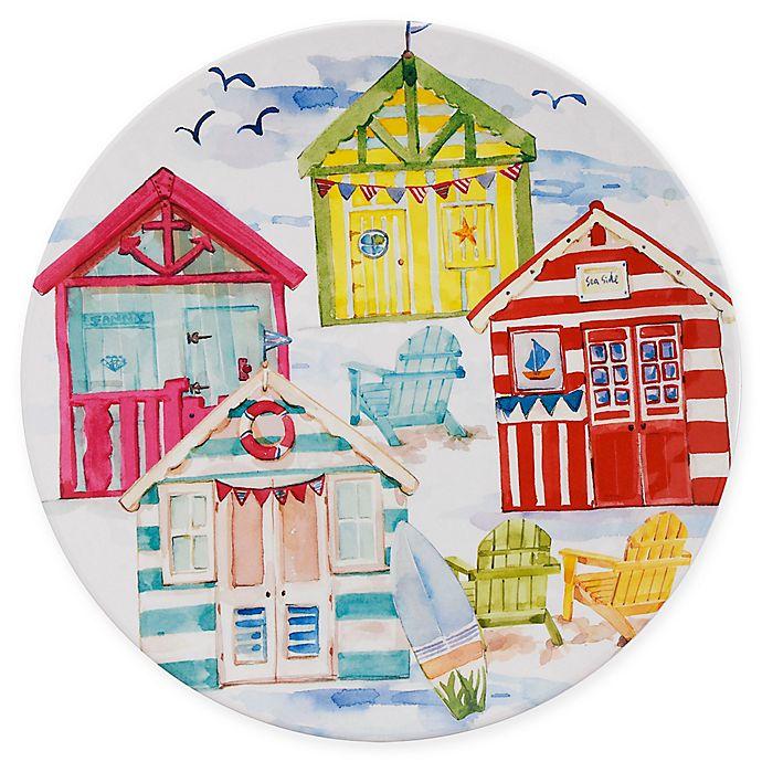 Alternate image 1 for Destination Summer Beach House Melamine Dinner Plate
