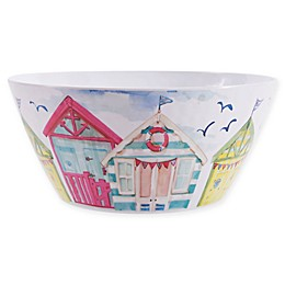 Beach House Melamine Large Bowl