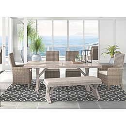 Signature Design By Ashley Beachcroft Patio Collection in Beige