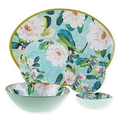 New York Botanical Garden® Margaret Melamine Dinnerware Collection