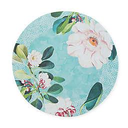 New York Botanical Garden® Margaret Melamine Dinner Plate in Seabreeze Blue