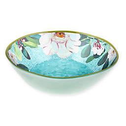 New York Botanical Garden® Margaret Melamine Serving Bowl in Seabreeze Blue
