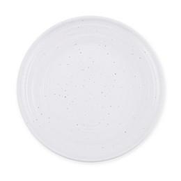 Potters Wheel Melamine Dinner Plate in Cream