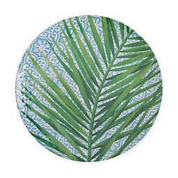 Arcadia Tropical Leaf Melamine Dinner Plate