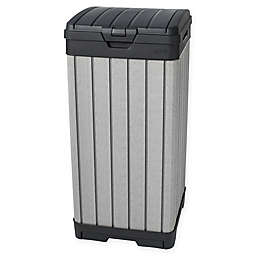 Keter Rockford Resin 38-Gallon Trash Can
