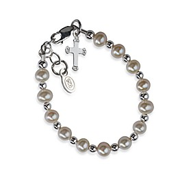 Cherished Moments Silver Christening Bracelet