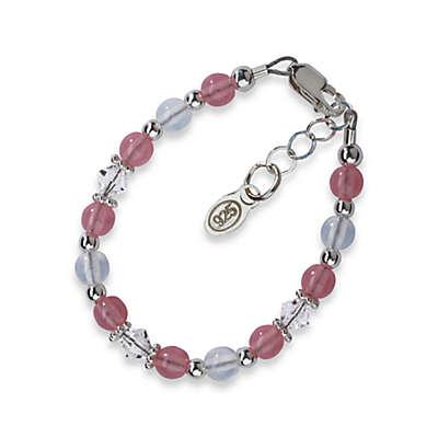 Cherished Moments Sterling Silver Pink Bracelet
