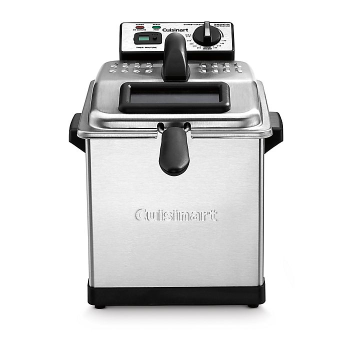 Alternate image 1 for Cuisinart® Digital 3.2-Liter Deep Fryer