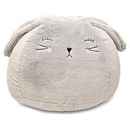 Hearts & Stars Bunny Faux Fur Critter Bean Bag Chair