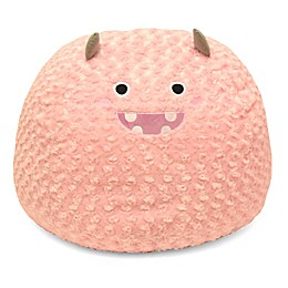 Hearts & Stars Monster Faux Fur Critter Bean Bag Chair
