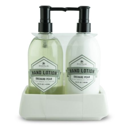 Seven Palms 2 Piece Orchard Pear Hand Soap Amp Lotion Set