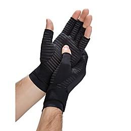 Copper Fit® Compression Gloves in Black